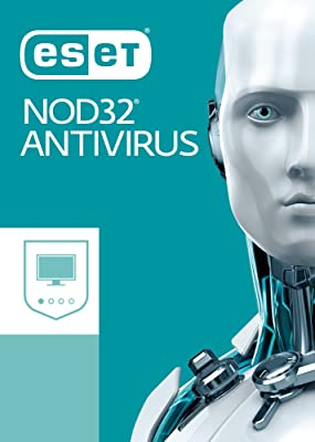 ESET NOD32 Antivirus for Windows 2018 | 1 Device & 1 Year | Download with License [Download]