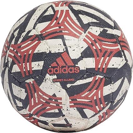 adidas Tango Allround Balón de Fútbol, Mens, White/Black/Scarlet ...
