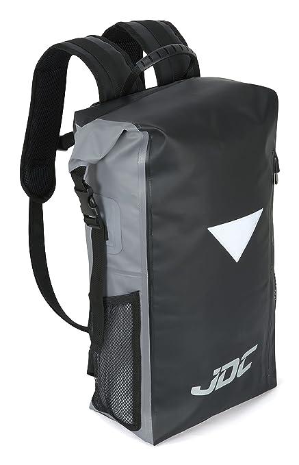 7 opinioni per JDC Zaino da moto Dry Bag 100% impermeabile, capacità 30L- Nero/Grigio
