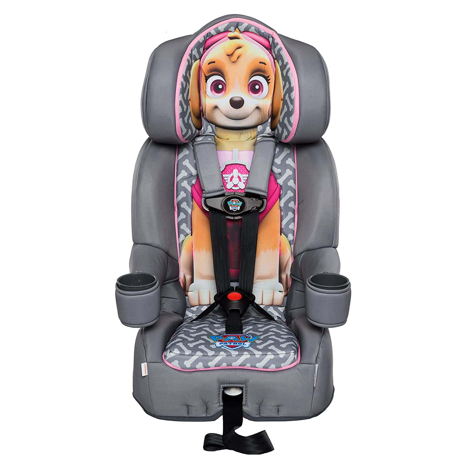 KidsEmbrace Paw Patrol Booster Car Seat, Nickelodeon Chase Combination Seat, 5 Point Harness, Blue 3001CHS