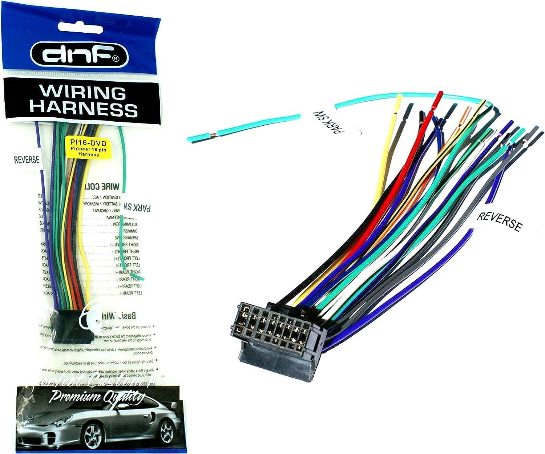 Amazon.com: DNF Pioneer Wire Harness AVH-100 DVD (1 Harness) AVH200BT- 100%  Copper Wires!: AutomotiveAmazon.com