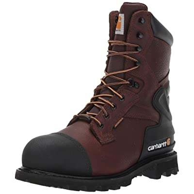 Amazon.com   Carhartt Men's CSA 8-inch Wtrprf Insulated Work Boot Steel Safety Toe Cmr8859 Industrial   Industrial & Construction Boots