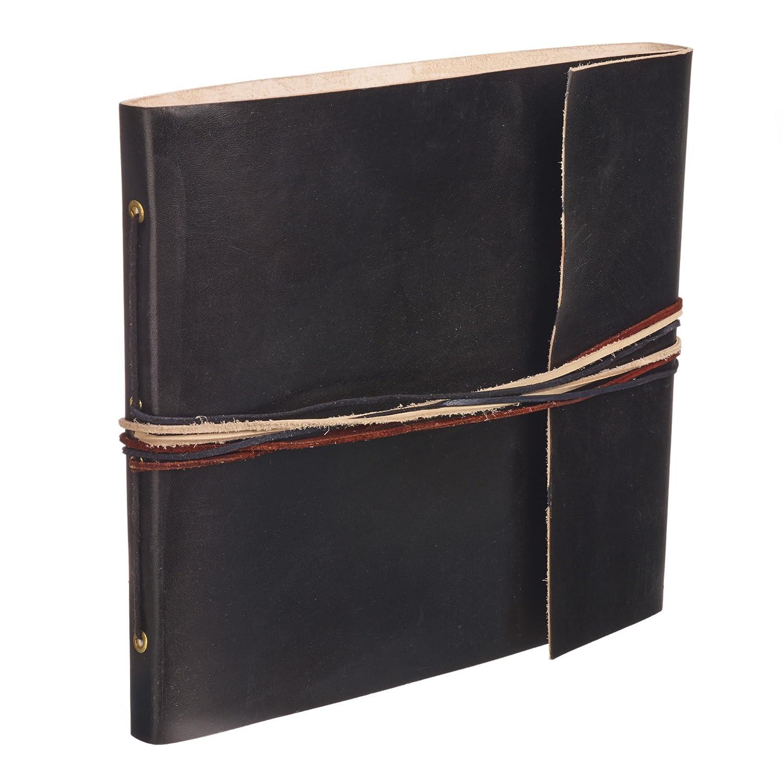Paper High 'Album fotografico 3corde in pelle nero–260x 240mm