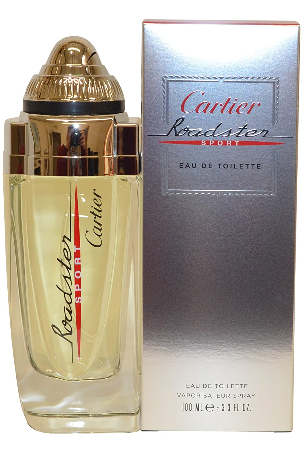 e371546b391 Amazon.com   Cartier Roadster Sport Eau De Toilette Spray