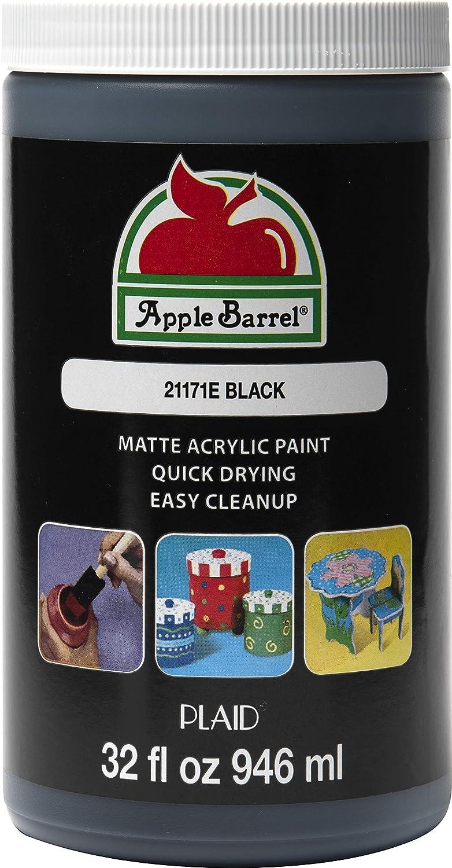 Apple Barrel Black Paint