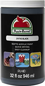 Apple Barrel Black Paint