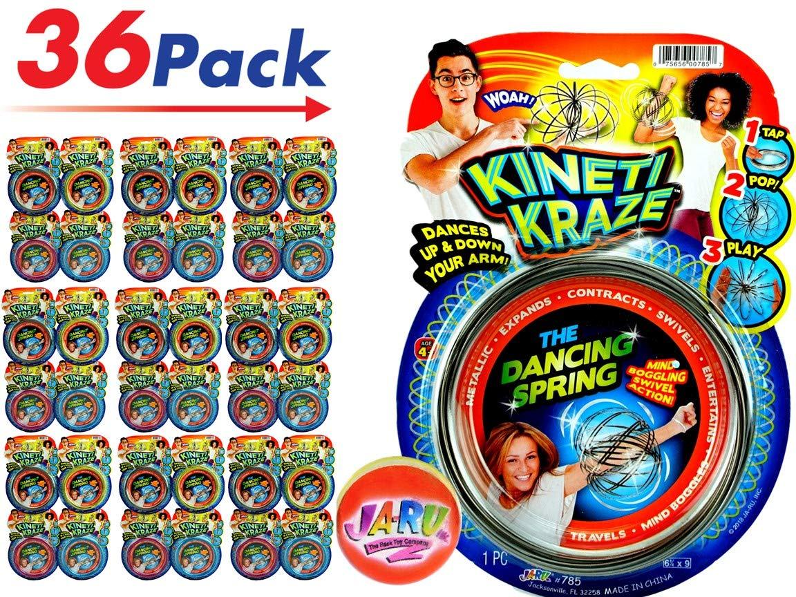 JA-RU Flow Kinetic Ring (Pack of 36) ToroFun Game or Arm Slinky| Item #785-36