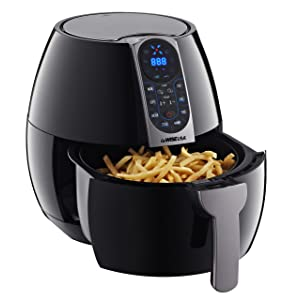 GoWISE USA GW22638 Air Fryer, 3.7 Quarts