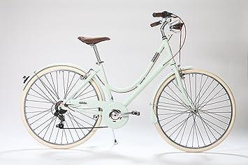 La Urban Milk & Mint. Bicicleta Paseo Mujer en Aluminio 7 ...