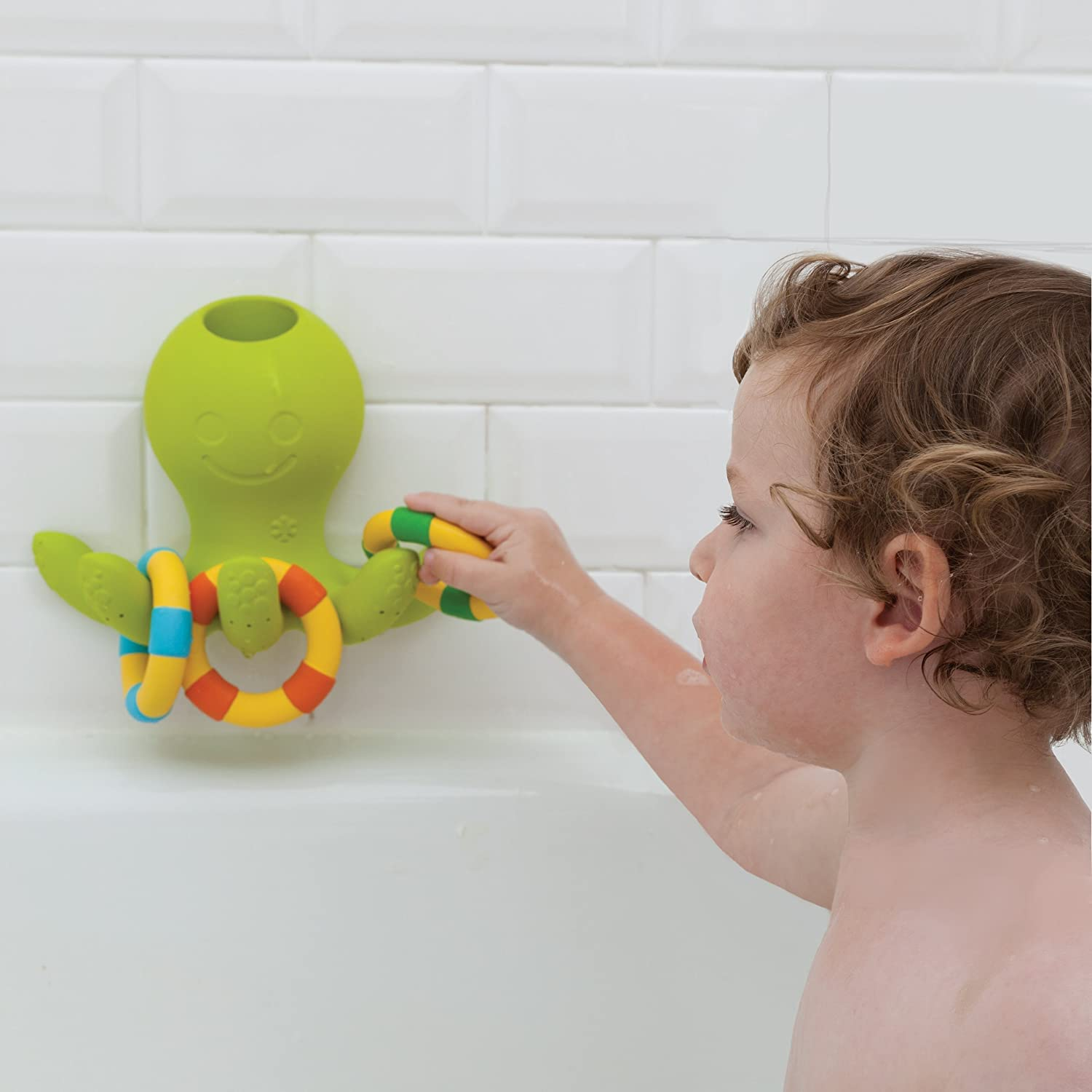 Amazon Skip Hop Octopus Ring Toss Fountain Bath Toy