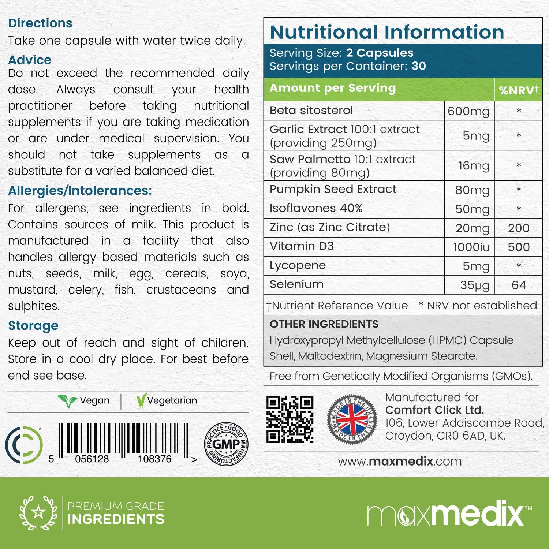 cloruro de magnesio dosis prostata