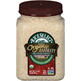 RiceSelect Organic Jasmati, Long Grain Jasmine Rice, Gluten-Free, Non-GMO, 32 oz (Pack of 1 Jar)