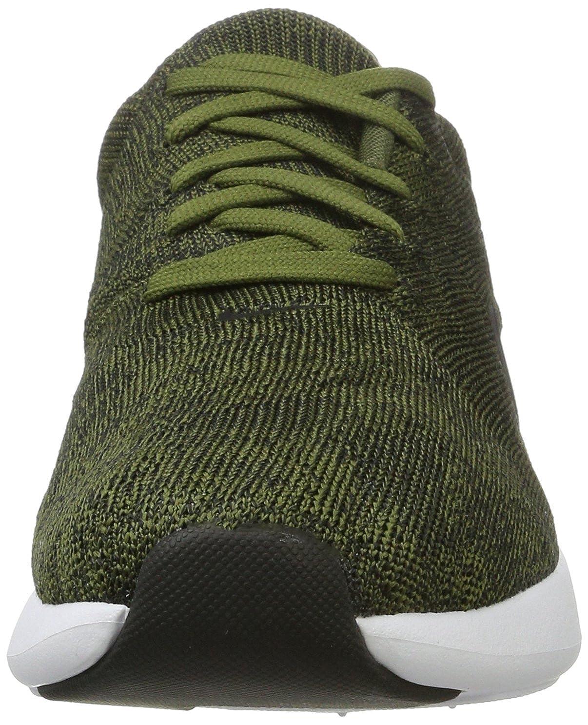 2c6f18957c8 Nike Air Max Modern Flyknit Men's Running, Rough Green/Black-White, 11