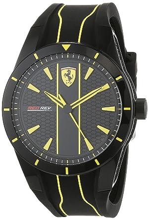 Buy Scuderia Ferrari REDREV 0830482 Men s Watch Online at Low Prices in  India - Amazon.in 893d701899