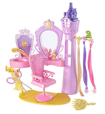Amazon Disney Princess Rapunzel Hair Salon Toys Games