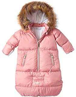 Cremson Girls Boys Newborn Infant Baby Puffer Carbag Pram Bag Snowsuit Bunting