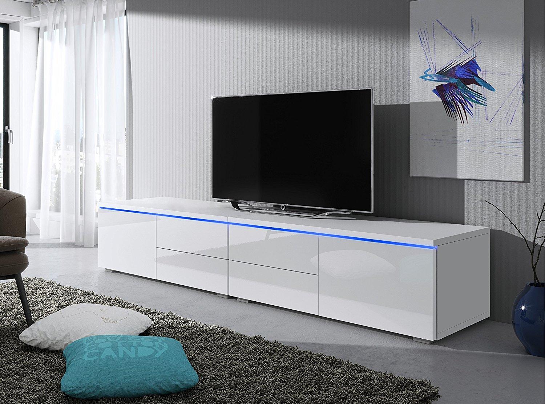 TV Schrank Lowboard Sideboard Tisch Möbel Board Luv Double mit LED ...