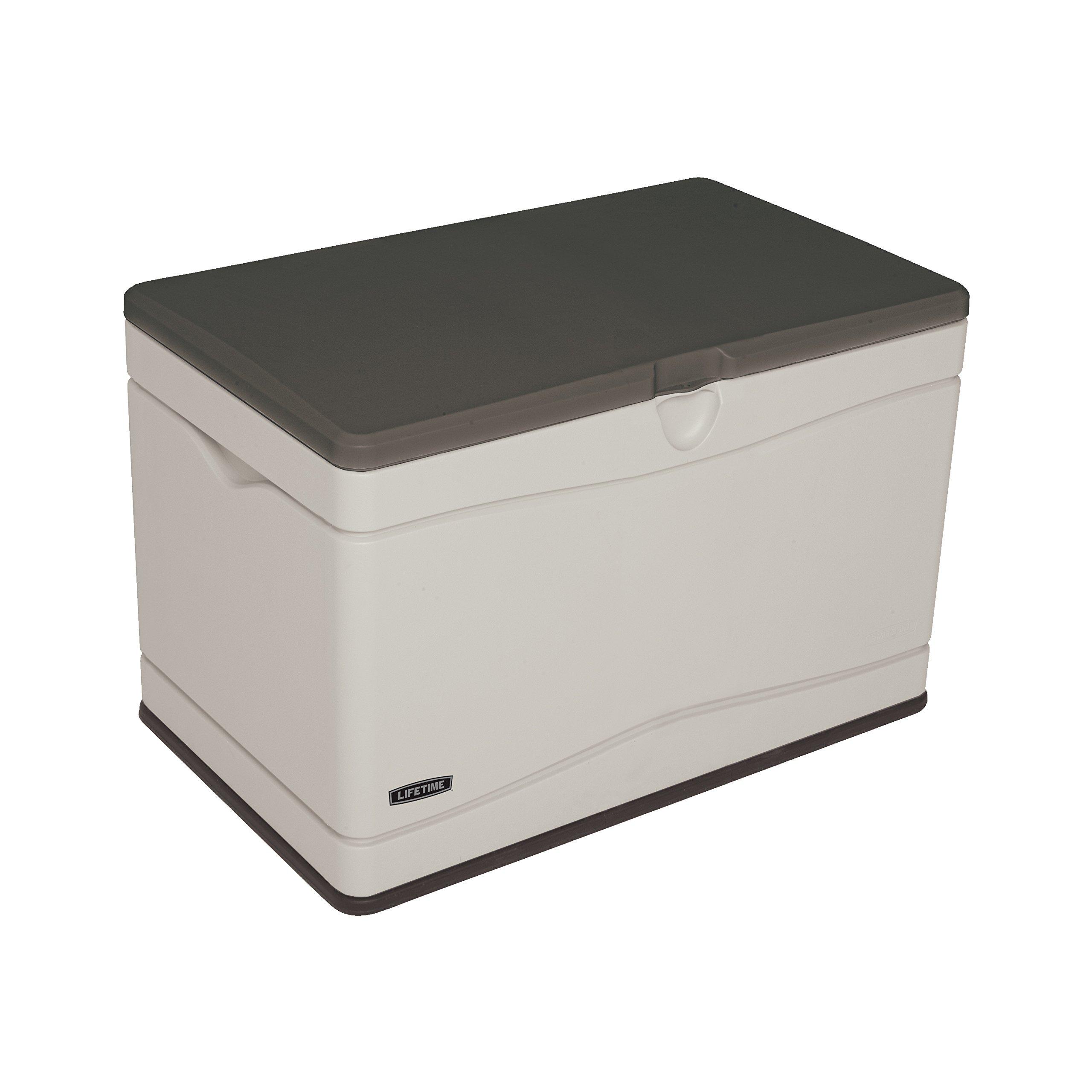 Lifetime 60103 Deck Storage Box, 80 gallon