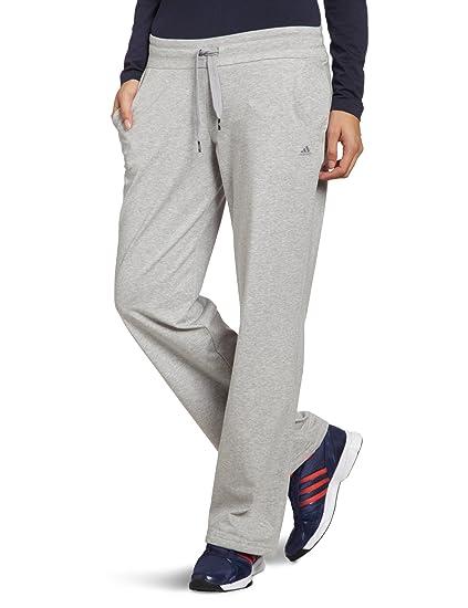297928a89fe3b Amazon.com: adidas Women's Essentials Jersey Knit Pants 4-6S Grey ...