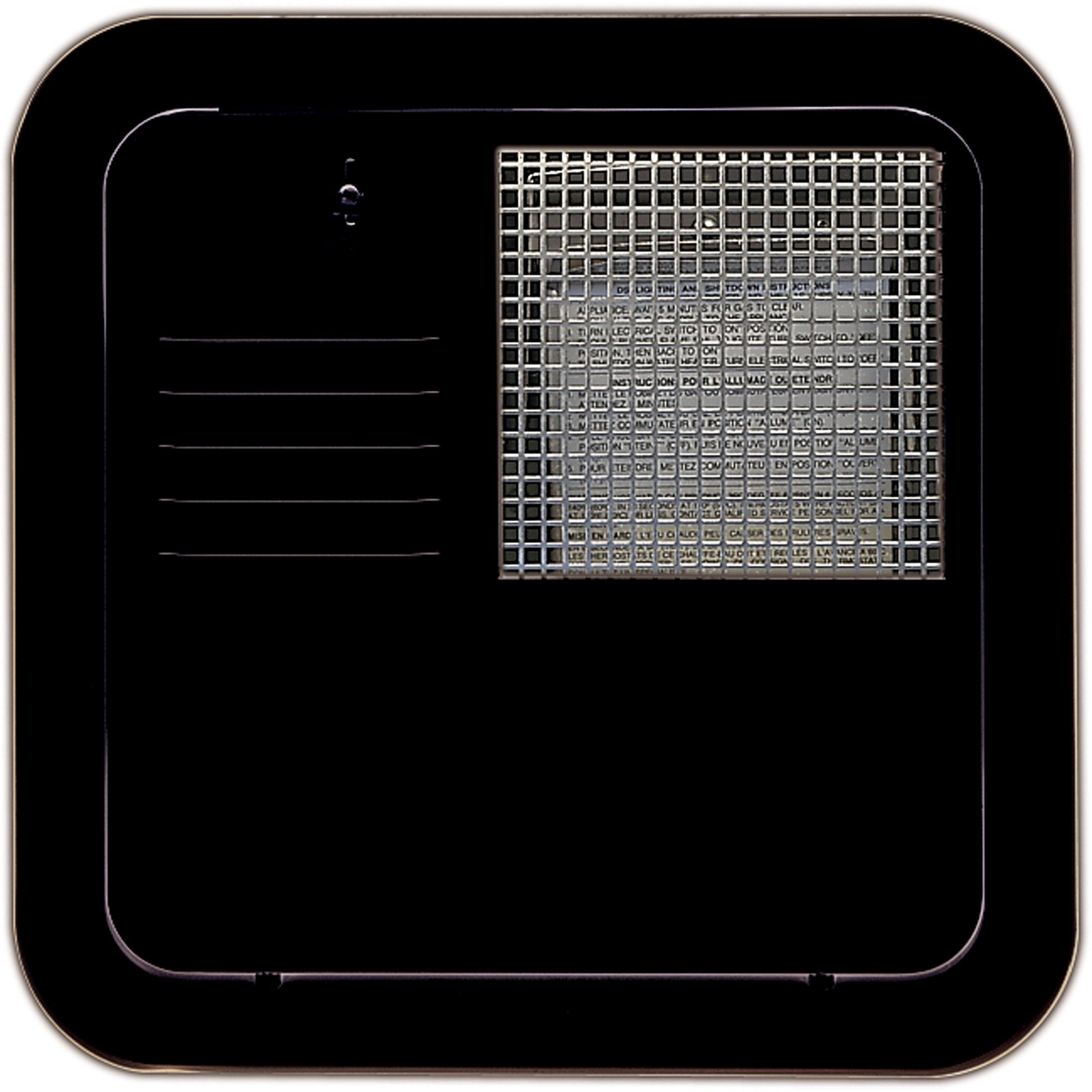 Suburban 6259AEB Water Heater Access Door, Black-10 Gallon by Suburban
