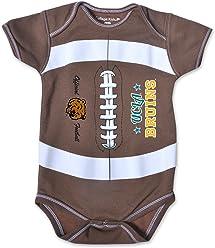 3e7a977b19a8 College Kids NCAA Unisex-Child MVP Football Bodysuit