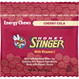 Honey Stinger Organic Energy Chews, Cherry Cola, Naturally Caffeinated, 1.8 Ounce (Pack of 12)
