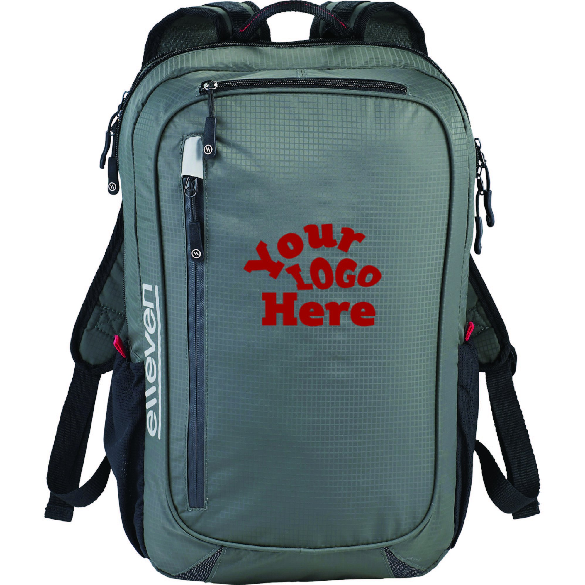 elleven Lunar Lightweight 15'' Computer Backpack (Qty 12 $45.62 each) (Full Color Transfer Print)