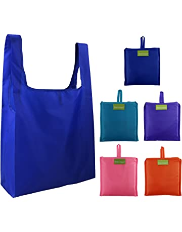547326193 Reusable Grocery Bags Set of 5