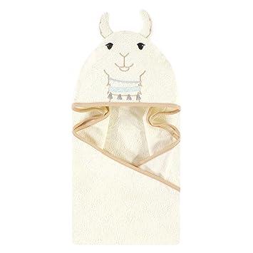 Little Treasure Unisex Baby Cotton Animal Face Hooded Towel