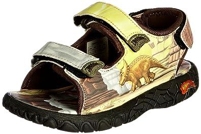 Dinosoles Jungen Sandalen, Braun - Hellbraun - Größe: 1_Child_UK