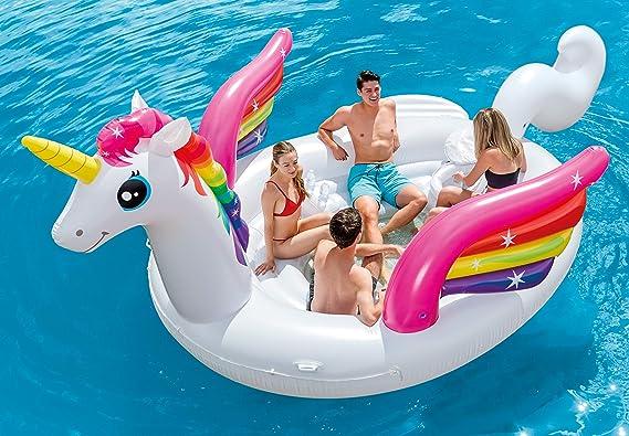 Intex Mega Yellow Duck, Inflatable Island, 87