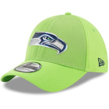 cfe90380fe87c5 Seattle Seahawks 2017 NFL On Field Color Rush 39THIRTY Cap - Size Medium /  Large