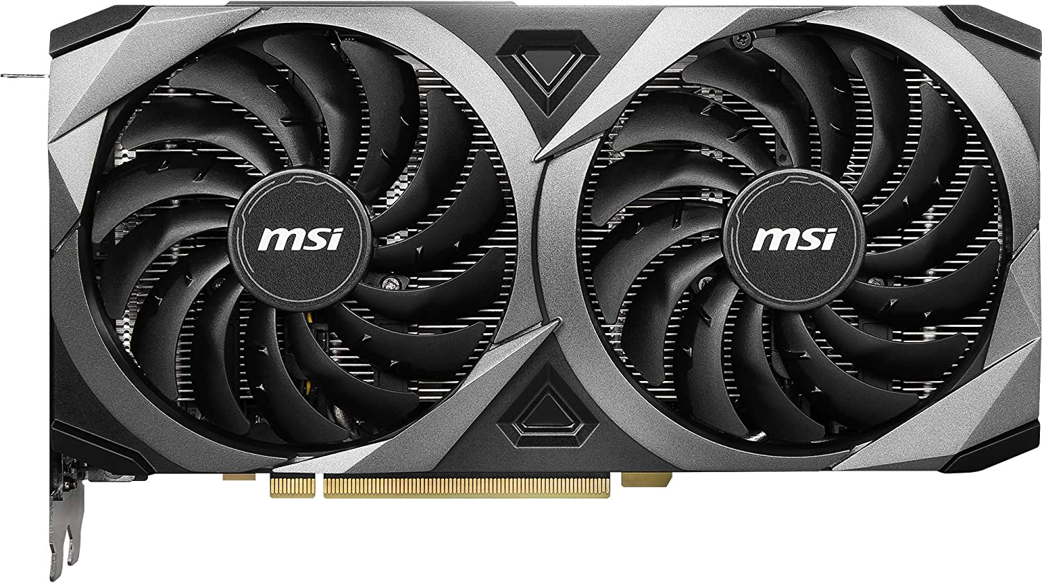 MSI Gaming GeForce RTX 3070 8 GB GDRR6 256 bit HDMI/DP TORX Fan 3.0 Ampere Architettura OC Scheda grafica (RTX 3070 VENTUS 2X OC)