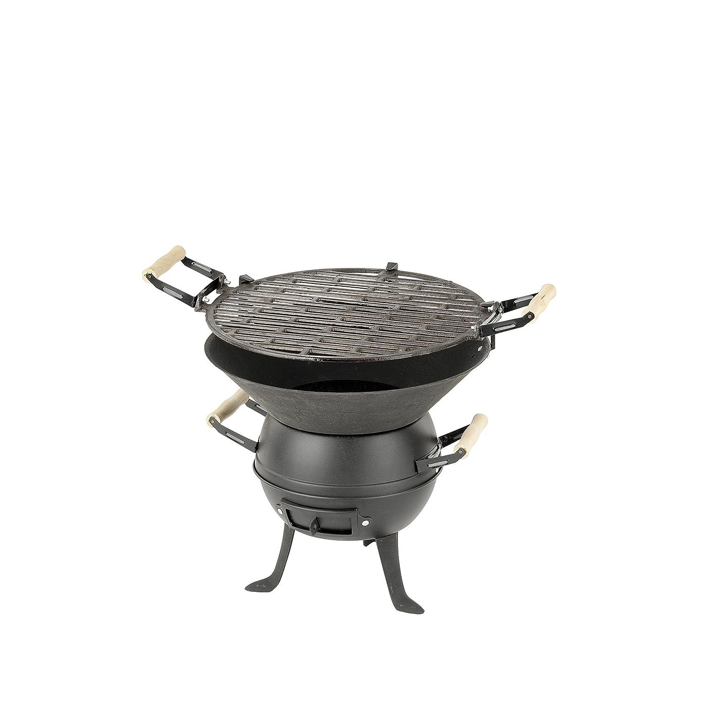 Barbacoa, parilla, asador - de gas, de carbón o leña, diferentes modelos, colores y tamaños. (ANGULAR XXL carbón o leña, 43kg): Amazon.es: Electrónica
