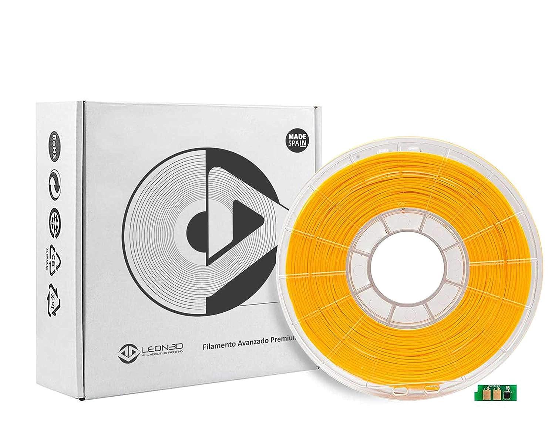 FILAMENTO 3D PLA SMART CON CHIP - 7 COLORES 1.75mm 700g. (AMARILLO ...