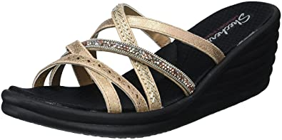 Skechers Cali Women's rumbler Wave-New Lassie Slide Sandal