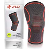 UFlex Athletics Knee Compression Sleeve Support for Running, Jogging, Sports, Joint Pain Relief, Arthritis and Injury…