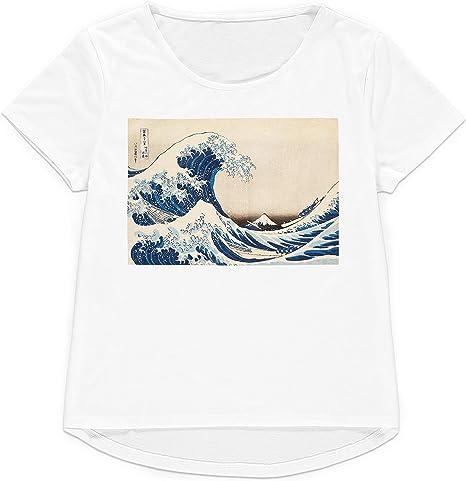 Strand Clothing Ukiyo-e Art - Camiseta japonesa de Kanagawa para mujer y hombre