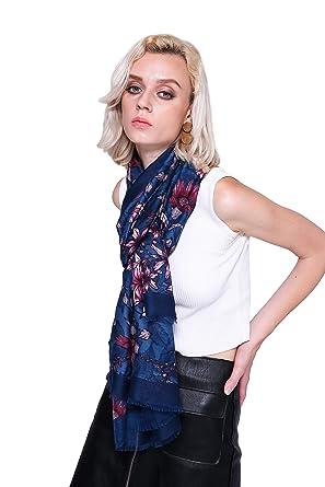 Mode Frau Mädchen Schal Lange Schals Weich Baumwolle Wickeln Schal Stahl  Farbe