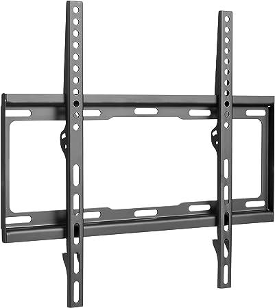Soporte de TV fijo de montaje en pared para 23-50 pulgadas con 400 x 400 400 x 200 o 300 x 300 VESA, peso máximo 50 kg, de electrosmart: Amazon.es: Electrónica