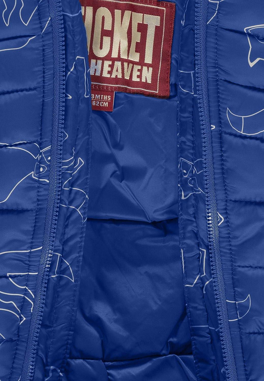 Ticket to Heaven Baby-Jungen Overall Lightweight Padding Copra Allover Schneeanzug