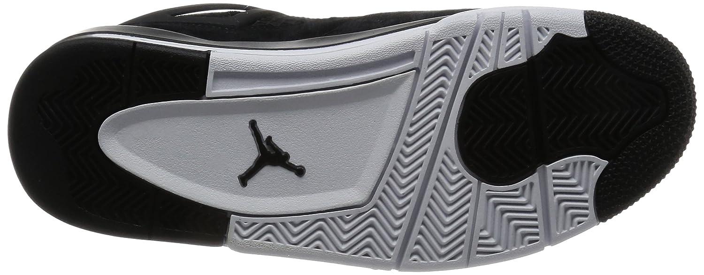 Jordan Nike Mens Air 4 Retro schwarz Metallic Gold Weiß 308497 032 ... Starke Hitze- und Verschleißfestigkeit