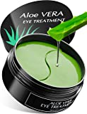 LUXURY Aloe Vera Eye Treatment Mask (30 Pairs) Reduces Wrinkles and Puffiness, Lightens Dark Circles and Reduces Bags Under Eyes, Moisturizes and Anti Aging Skin