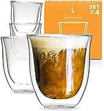 Glass Cappuccino Cups