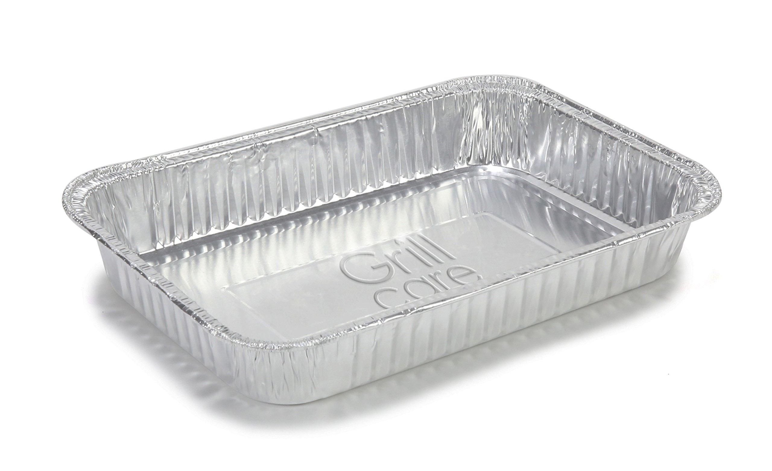 Grill Care 16415 Foil Drip Pans Compatible With Weber Q
