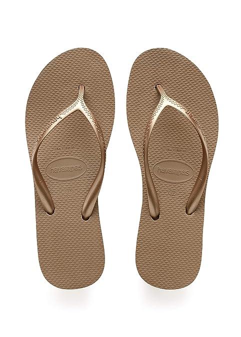 b1aee2ccb Havaianas Women s High Light II Sandal Flip Flop Black  Amazon.ca ...