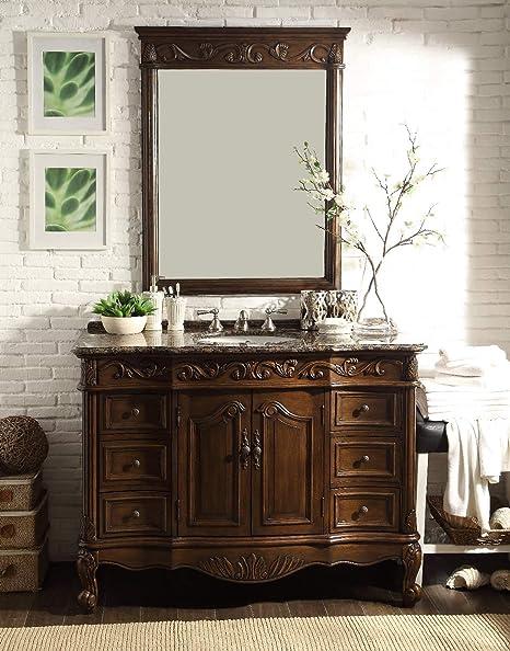 Amazoncom 48 Baltic Brown Granite Counter Top Beckham