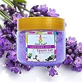 Aromakrafts® Epsom Bath & Foot Spa Salt enriched with Lavender Love Aroma 350g