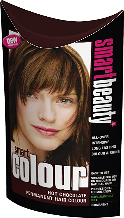 Smart color permanente tinte de pelo Chocolate caliente