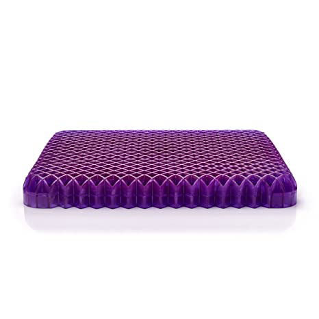 Purple Royal Seat Cushion Seat Cushion For The Car Or Office Chair Can Help In Relieving Back Pain Sciatica Pain
